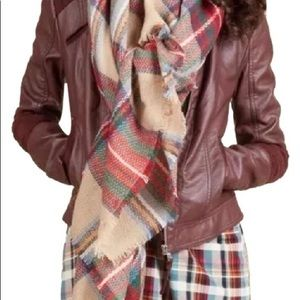 Modcloth Accessories - ModCloth tartan plaid blanket scarf